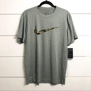 Nike Dri Fit Tee - Camo Check